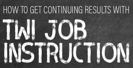 Accelerating Effective Employee Training with TWI Job Instruction